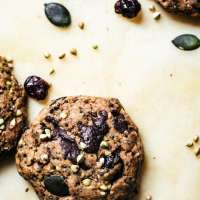 Buckwheat Trail Mix Cookies | Occasionally Eggs
