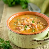 Instant Pot Ham White Bean Soup