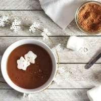 Vegan Gingerbread Hot Chocolate