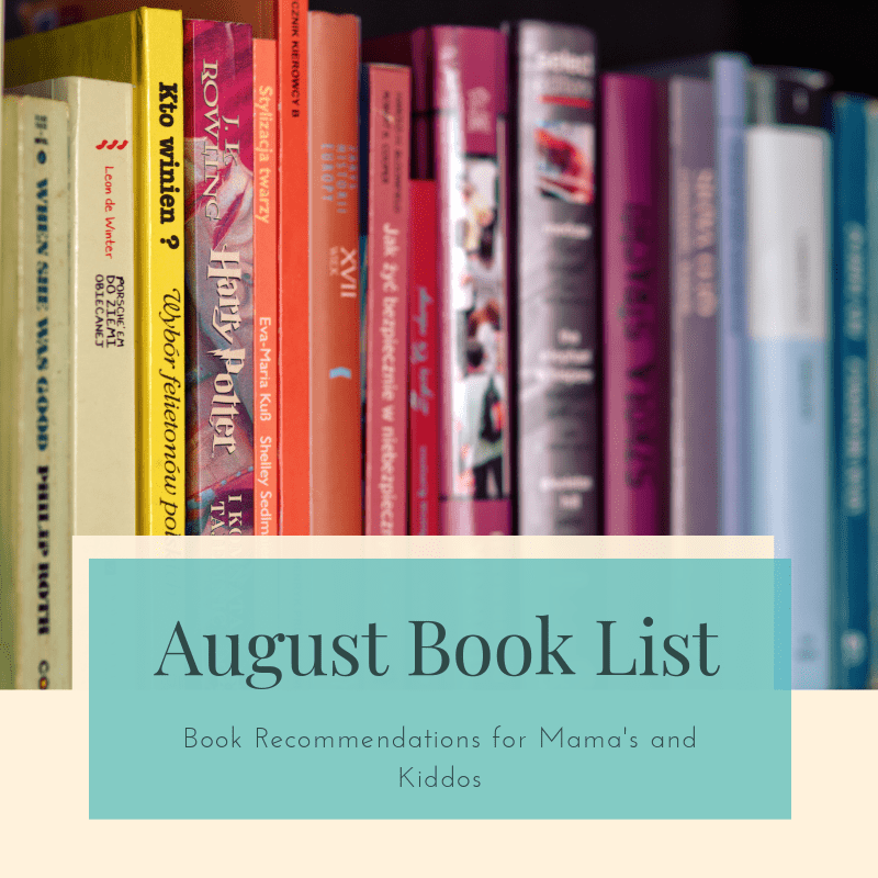 Title for August Book List