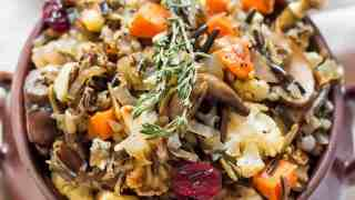 Gluten Free Stuffing Recipe - Breadless, Vegetarian/Vegan » LeelaLicious
