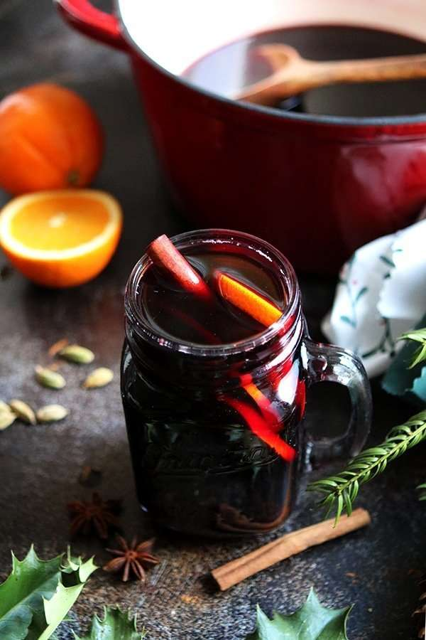 German Mulled Wine: Gluhwein • Happy Kitchen
