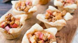 Apple and Brie Tartlets
