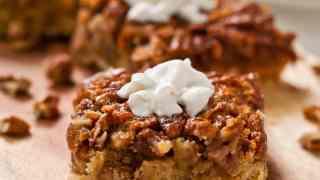 Pecan Pie Bars (with gluten free option)