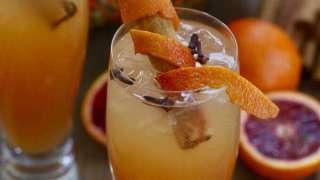 Fireball Whisky Cinnamon Apple Cider Fall Cocktail