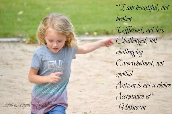 Beautiful Quote Our Autism Story