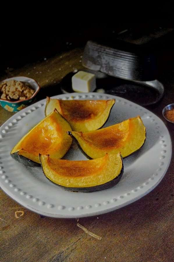 Image Acorn Squash Wedges with Brown Sugar Butter