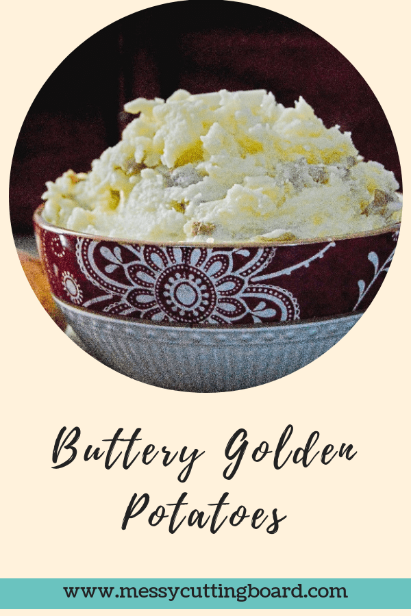 Title Image Buttery Golden Potatoes