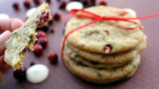 Recipe: Double Chocolate Cranberry Cookies