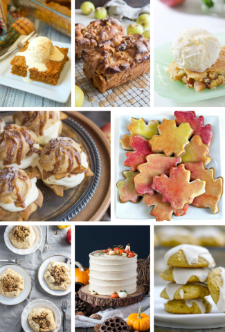 Sneak Peak at the fall desserts recipe collection