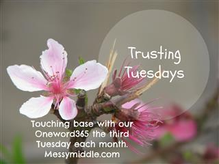 Trusting Tuesdays button (Mobile)