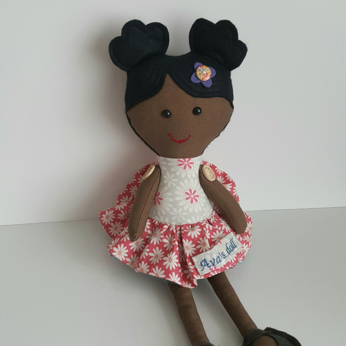 personalised dolly pink