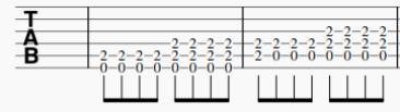 Power chord E et A