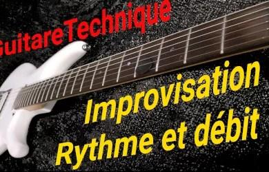 Improvisation : rythme et débit de notes