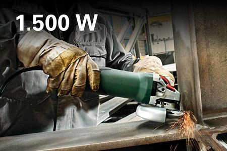 METABO Angle Grinder: More Power. In All Classes. 9