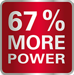 67% More Power