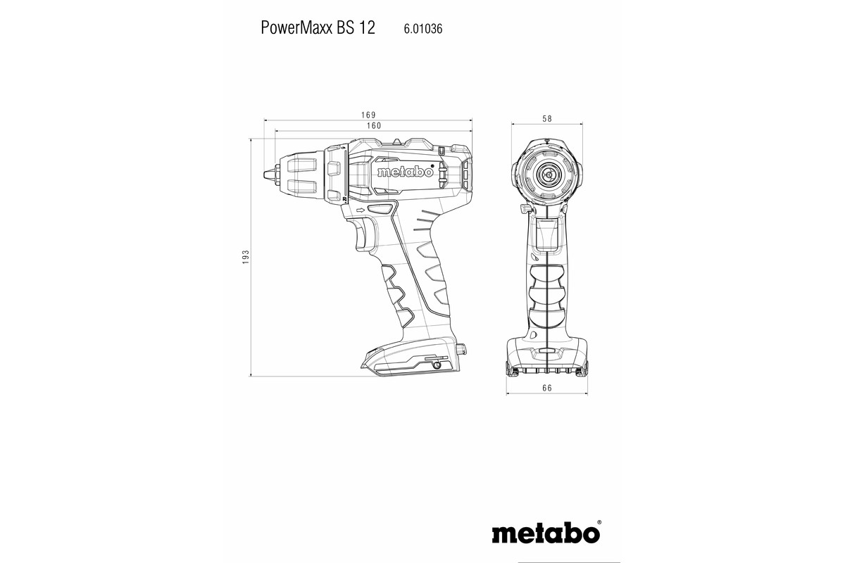 Set Powermaxx Bs 12 Cordless Drill