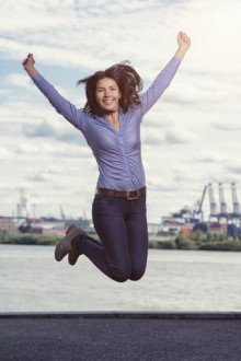 jumpinglady