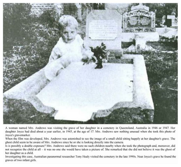 Mrs Andrews Ghost baby ? - 1947 - DessWong