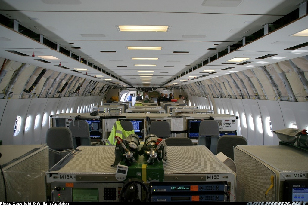 Debunked Chemtrail Plane Interior Ballast Barrels