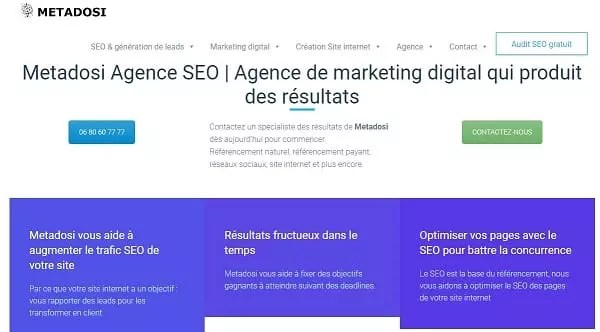 Conversion PSD / HTML : Coder une conception de site Web professionnel
