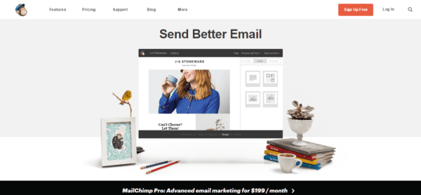 Envoyez de meilleurs emails avec Mailchimp