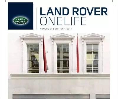 Land Rover offre une expérience client unique avec son magazine One life