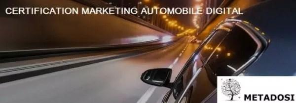 L'explosion de la certification du commerce électronique et du marketing digital automobile