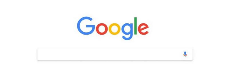 capture d'écran de la page d'accueil google