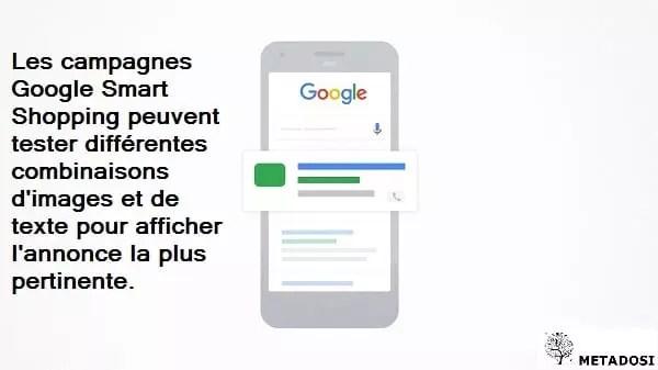 Les différentes fonctionnalités des campagnes Google Smart Shopping