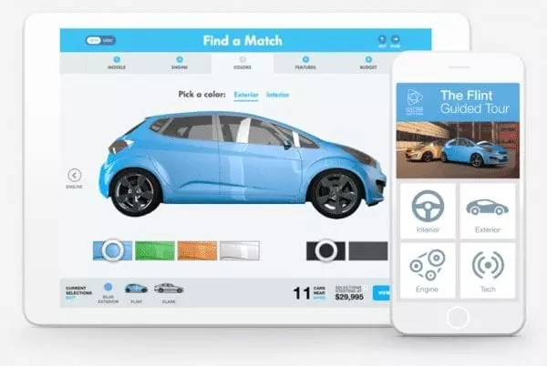 CRM automobile Salesforce