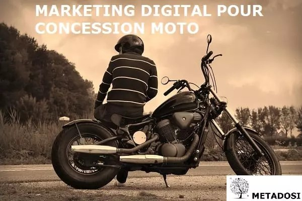 Marketing digital pour concession moto