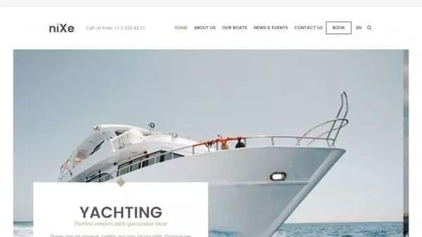 4 éléments de création de site internet de concession de bateaux