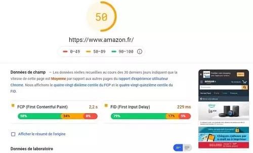 La vitesse de chargement d'un site en version mobile est un critère de classement Google