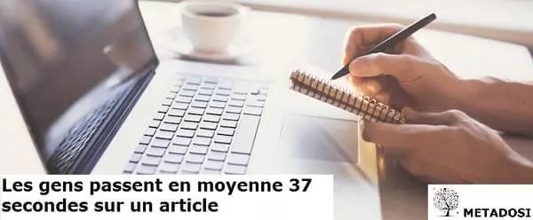 Savoir écrire pour le web
