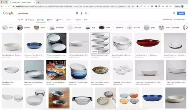Mise à jour des SERP de Google image