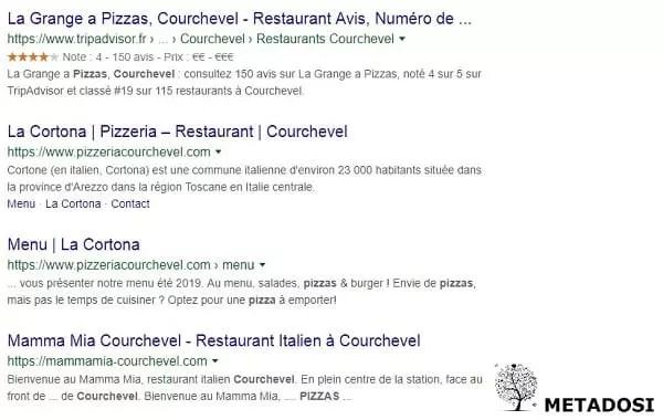 En tant que pizzeria à Courchevel vous devez avoir un site internet fort dans votre stratégie de référencement local