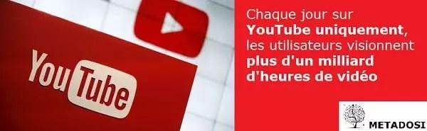 Les utilisateurs regardent des heures de vidéo sur YouTube