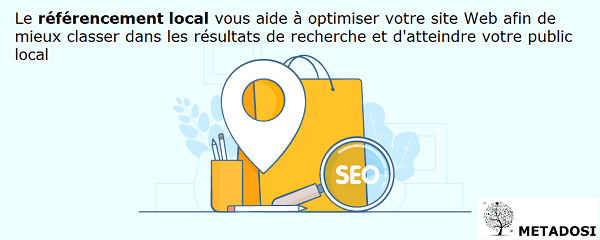 Le SEO local vous permet d'être mieux positionné dans la recherche locale
