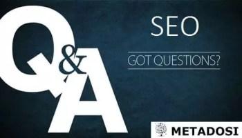 9 questions SEO que vous avez posées (et nous avons répondu) | SEO FAQ