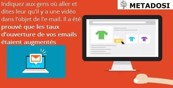 La vidéo augmente les taux d'ouverture de vos emails
