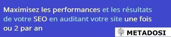 Une déclaration sur la fréquence à laquelle les entreprises doivent auditer leur référencement