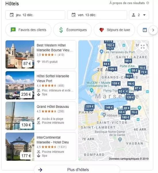 Les meilleurs hôtels de Marseille