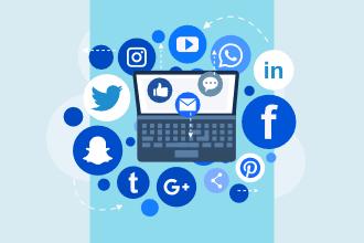 icônes des médias sociaux