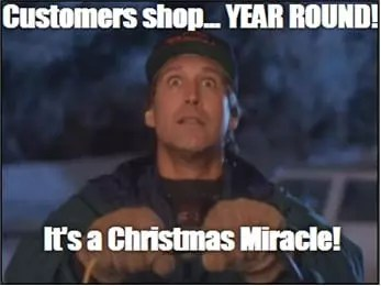Email Marketing pour les vacances de Noël