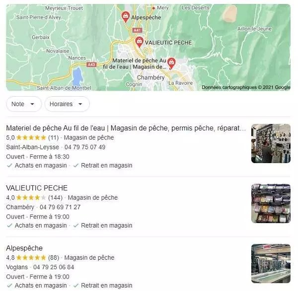 Pack local Google My Business