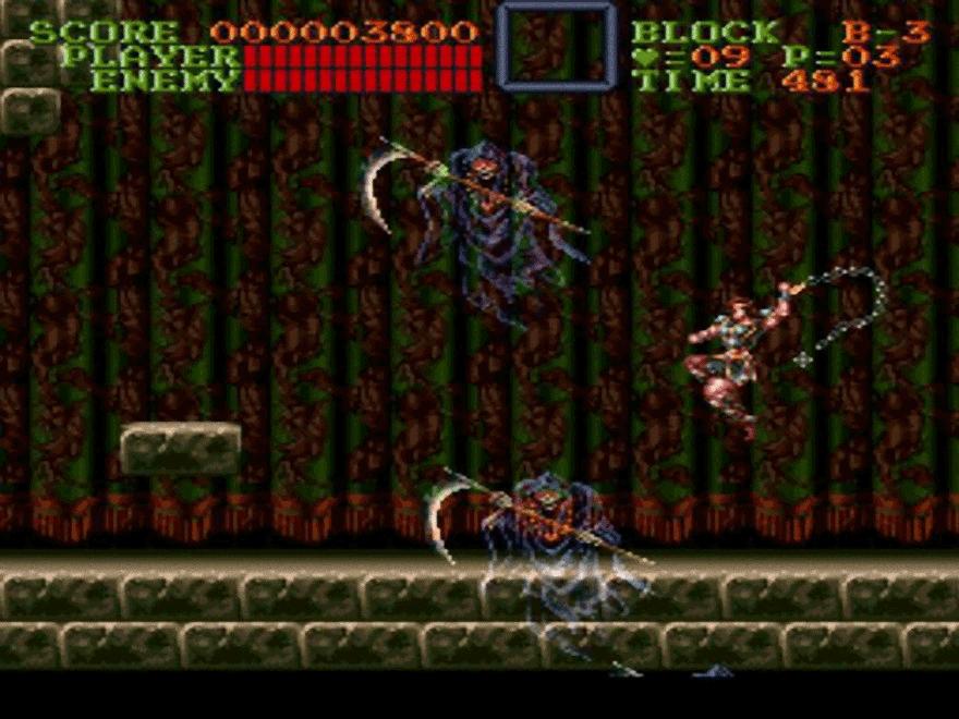 Game Retrô - Super Castlevania IV 2