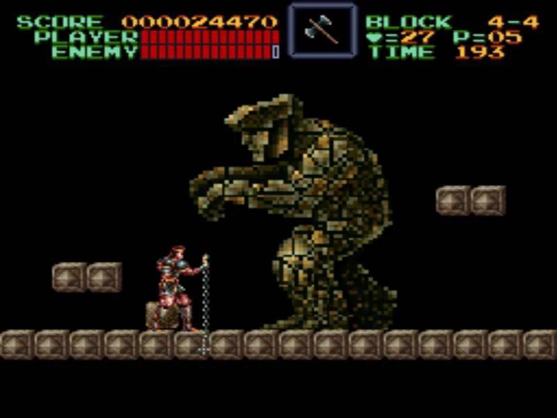 Game Retrô - Super Castlevania IV 4 4