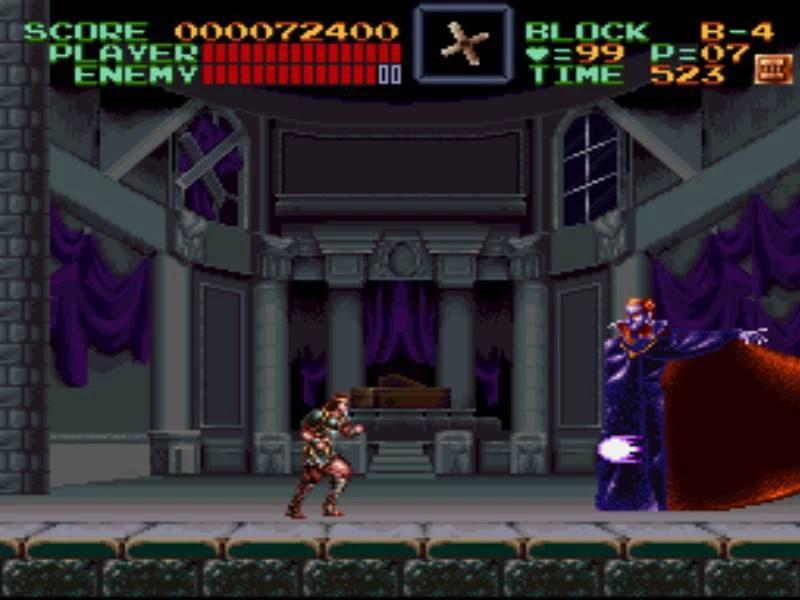 Game Retrô - Super Castlevania IV 4 6
