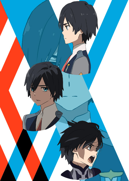 hiro-personagens darling in the franxx